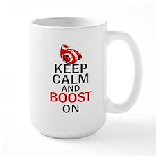 Turbo Boost - Keep Calm Mug