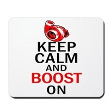 Turbo Boost - Keep Calm Mousepad