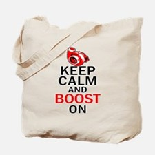 Turbo Boost - Keep Calm Tote Bag