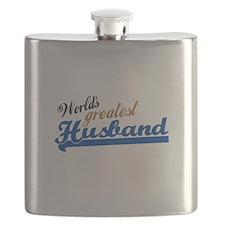 Worlds Greatest Husband Flask