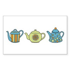 Teapot Border Decal