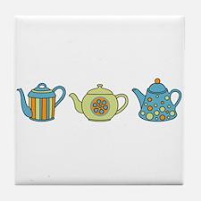 Teapot Border Tile Coaster