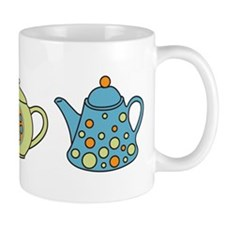Teapot Border Mug