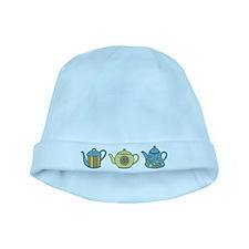 Teapot Border baby hat