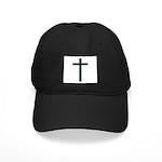 Green Black Cap