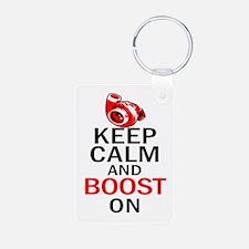 Turbo Boost - Keep Calm Keychains