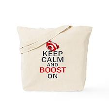 Turbo Boost - Keep Calm Tote Bag