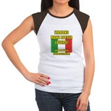 Italian better lover Women's Cap Sleeve T-Shirt