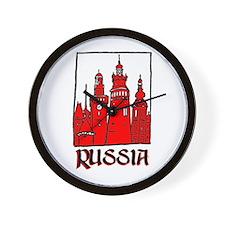 Russia Wall Clock