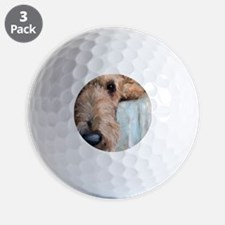 Airedale blues Golf Ball