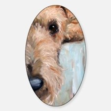 Airedale blues Decal