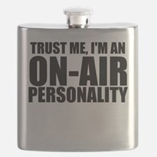 Trust Me, I'm An On-Air Personality Flask