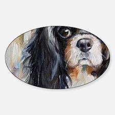 Who Me? Sticker (Oval)