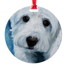 """Biscuit"" Ornament"
