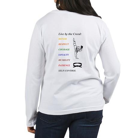 """The Creed"" Women's Long Sleeve T-Shirt"