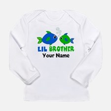 Little Brother Fish Long Sleeve T-Shirt
