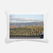 agave hill Rectangular Canvas Pillow
