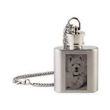 Little Slugger Flask Necklace