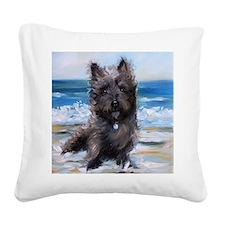 Breezes Square Canvas Pillow