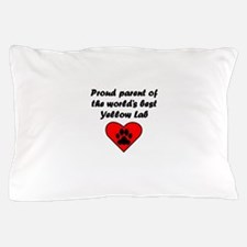 Yellow Lab Parent Pillow Case