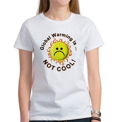 Stop Global Warming (Front) Women's T-Shirt