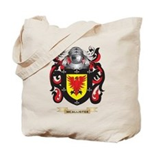 McAllister Coat of Arms - Family Crest Tote Bag