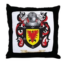 McAllister Coat of Arms - Family Crest Throw Pillo