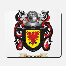 McAllister Coat of Arms - Family Crest Mousepad