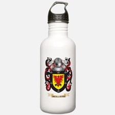 McAllister Coat of Arms - Family Crest Water Bottl
