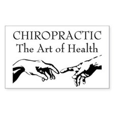 The Art of Health Rectangle Decal