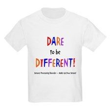 Dare To Be Different (Multi) Kids T-Shirt