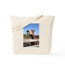 Laughing Horse Tote Bag