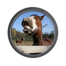 Laughing Horse Wall Clock