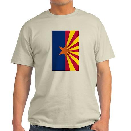 Arizona Flag Ash Grey T-Shirt