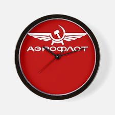 Soviet AeroFlot Wall Clock