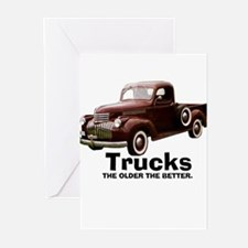 the older.PNG Greeting Cards (Pk of 10)