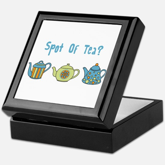 Spot Of Tea Keepsake Box
