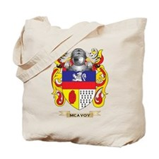 McAvoy Coat of Arms - Family Crest Tote Bag