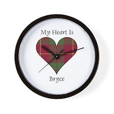 Heart - Bryce Wall Clock