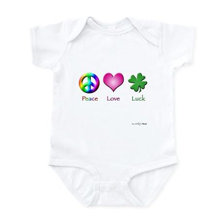 Peace Love Luck Infant Bodysuit