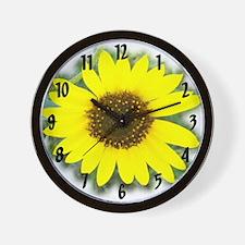 Sunflower #2 Wall Clock