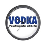 Vodka Wall Clocks