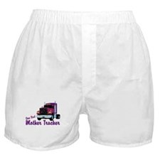 One Bad Mother Trucker Boxer Shorts