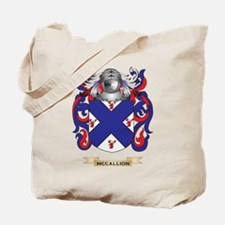 McCallion Coat of Arms - Family Crest Tote Bag