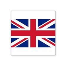 Sticker with British Flag - the Union Jack Sticker