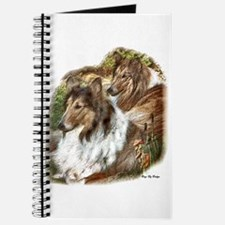 Rough Collie Art Gifts Journal