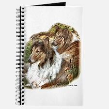 Rough Collie Art Gifts Journal