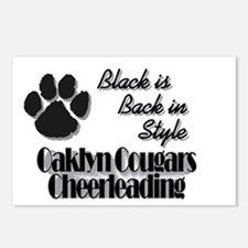 Oaklyn Cougars Black is Back Postcards (Package of