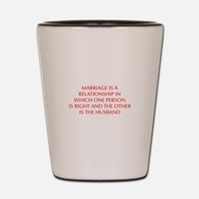 marriage-is-a-relationship-OPT-RED Shot Glass