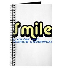 Smile if you're not wearing underwear Journal